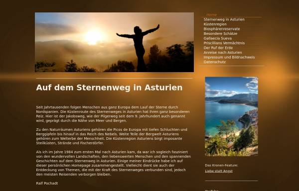 Vorschau von www.asturien.net, Asturien, das Naturparadies auf dem Sternenweg [Ralf Pochadt]