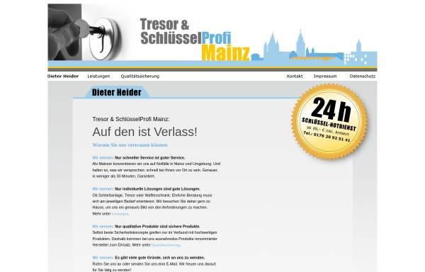 Vorschau von www.tresor-schluesselprofi.de, Tresor- & Schlüssel-Profi