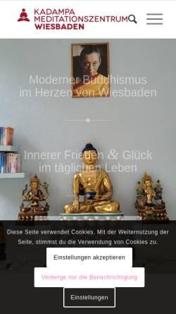 Vorschau der mobilen Webseite www.serlingpa.de, Serlingpa - Zentrum für Buddhismus in Wiesbaden