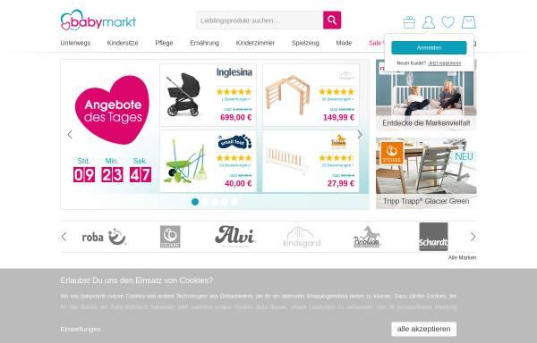 Vorschau von www.baby-markt.de, Babymöbel auf Baby-Markt.de