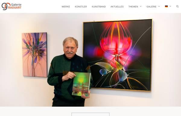 Vorschau von www.raduart.de, Galerie Raduart