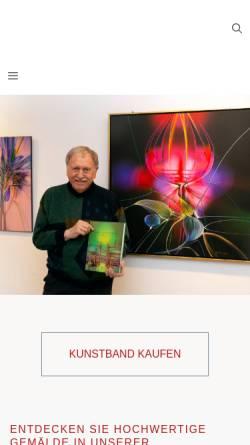 Vorschau der mobilen Webseite www.raduart.de, Galerie Raduart