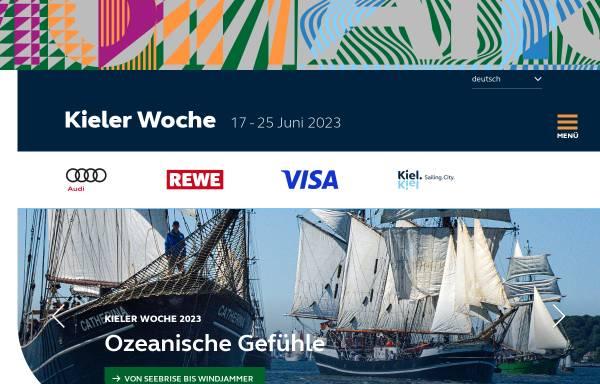 Vorschau von www.kieler-woche.de, Kieler Woche