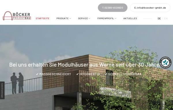 Vorschau von www.boecker-gmbh.de, Alfons BÖCKER GmbH