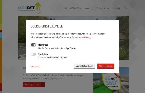 Vorschau von www.nordgate.de, Nordgate - Das Tor zur Metropolregion Hamburg