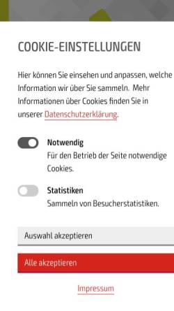 Vorschau der mobilen Webseite www.nordgate.de, Nordgate - Das Tor zur Metropolregion Hamburg