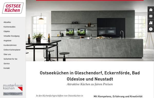 Vorschau von www.alno-kiel.de, Alno Küchenwelten Kiel