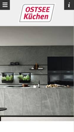 Vorschau der mobilen Webseite www.alno-kiel.de, Alno Küchenwelten Kiel