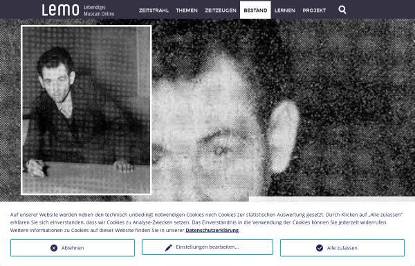 Vorschau von www.dhm.de, Deutsches Historisches Museum: Johann Georg Elser