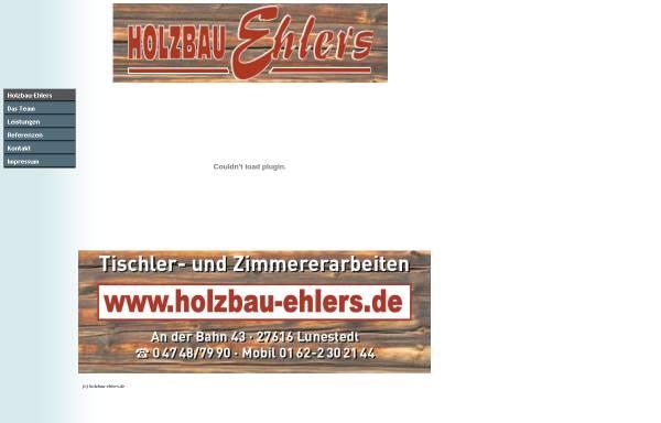 Vorschau von www.holzbau-ehlers.de, Holzbau Ehlers