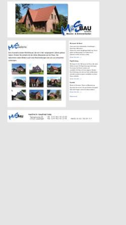 Vorschau der mobilen Webseite www.ms-bau-lunestedt.de, M & S Bau GmbH Lunestedt