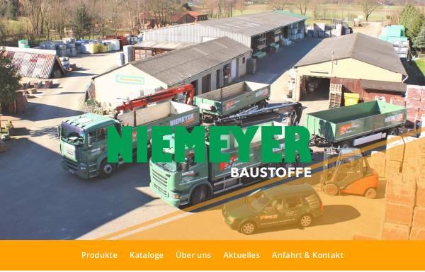 Vorschau von www.niemeyer-baustoffe.de, Niemeyer Baustoffe