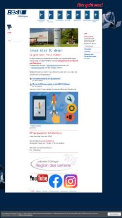 Vorschau der mobilen Webseite www.bbs2goe.de, BBS II Göttingen