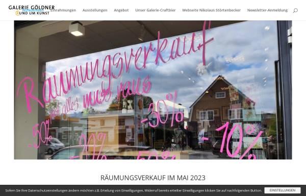 Vorschau von www.rundumkunst.de, Galerie Göldner / Rund um Kunst