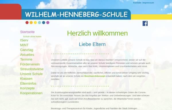 Vorschau von www.whs-goettingen.de, Wilhelm-Henneberg-Schule