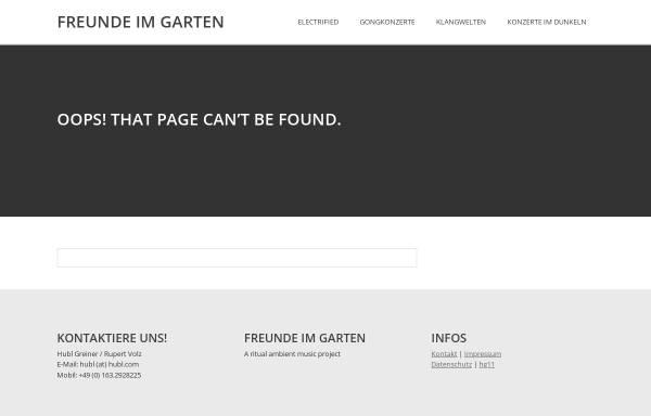 Vorschau von www.hg11.com, Die Visualisierung von Musik