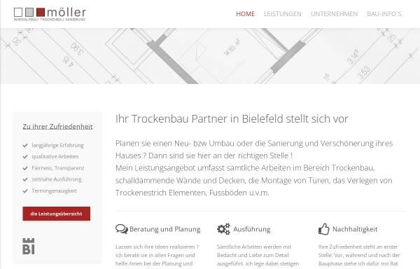 Vorschau von www.moeller-innenausbau.de, Möller Innenausbau