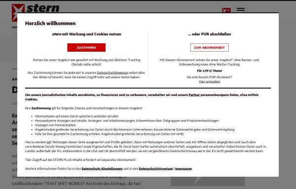 Vorschau von www.stern.de, Stern.de: Amoklauf von Emsdetten - Das Tagebuch von Sebastian B.