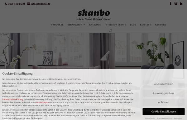 Skanbo Lübeck kiefer shop möbel und inneneinrichtung wirtschaft skanbo de
