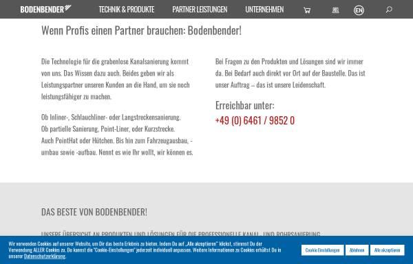 Vorschau von www.bodenbender.com, Bodenbender GmbH
