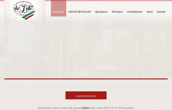 Vorschau von www.dalello.de, Da Lello - Inh. Salvatore Corallo