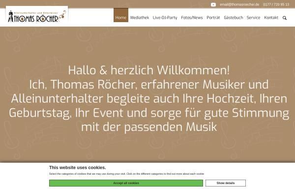 Vorschau von www.thomasroecher.de, Roecher, Thomas