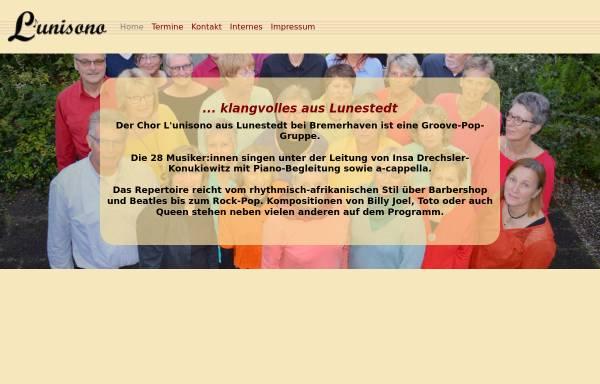 Vorschau von www.lunisono.de, L'unisono [Lunestedt]