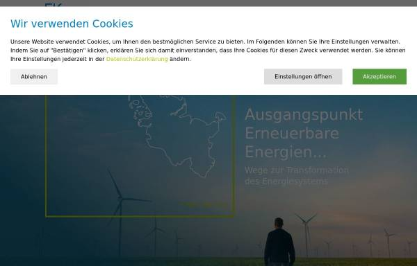 Vorschau von www.eksh.org, Gesellschaft für Energie und Klimaschutz Schleswig-Holstein GmbH