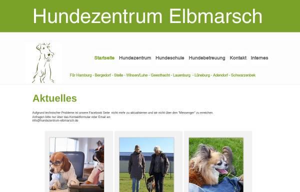 Vorschau von www.hundezentrum-elbmarsch.de, Hundezentrum Elbmarsch