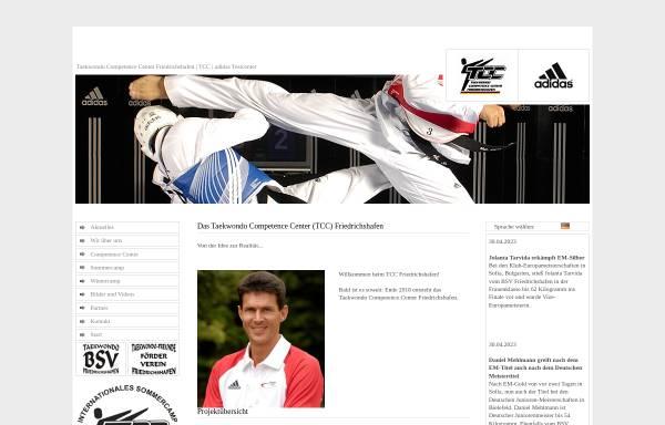 Vorschau von www.tcc-friedrichshafen.de, Taekwondo Competence Center (TCC) Friedrichshafen