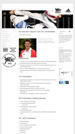 Vorschau der mobilen Webseite www.tcc-friedrichshafen.de, Taekwondo Competence Center (TCC) Friedrichshafen