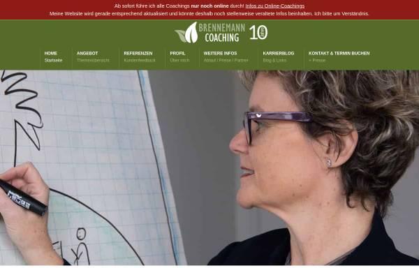 Vorschau von www.brennemann-coaching.ch, Business & Karriere Coaching Kirsten Brennemann