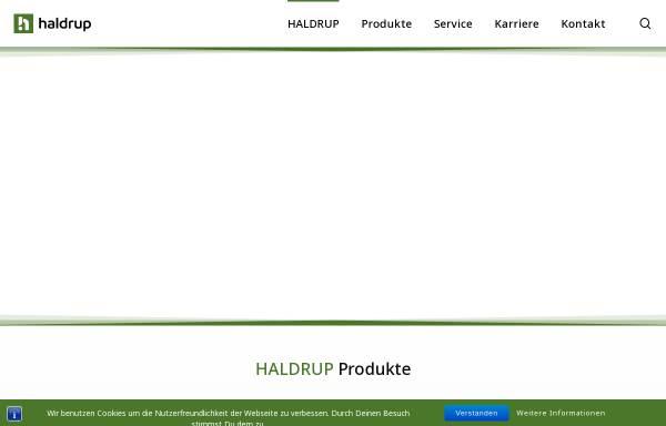 Vorschau von www.haldrup.de, Haldrup - Inotec Engineering GmbH