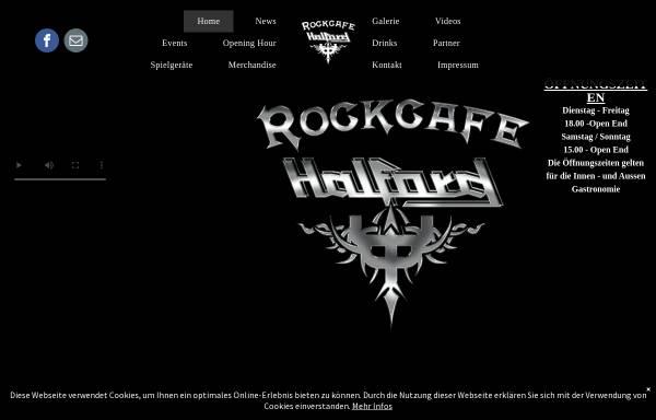 Vorschau von www.halford-berlin.de, Discothek Halford