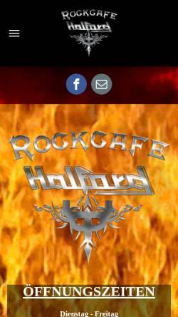Vorschau der mobilen Webseite www.halford-berlin.de, Discothek Halford