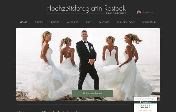 Vorschau von www.hochzeitsfotografin-rostock.de, Annie Ehringhaus - Hochzeitsfotografin