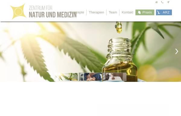 Vorschau von www.natumed.de, Zentrum für Natur und Medizin, Praxis Prof. Dr. med. Breivogel