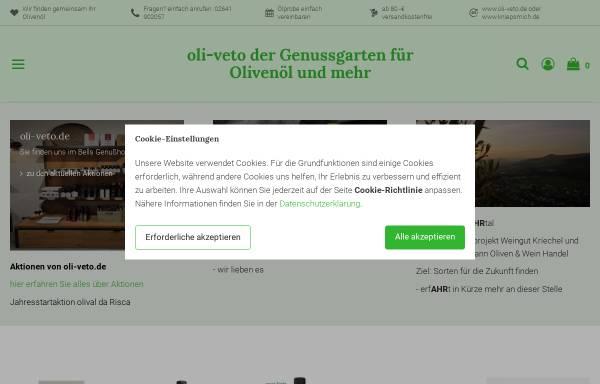 Vorschau von www.oli-veto.de, Oli-veta O.Heimermann