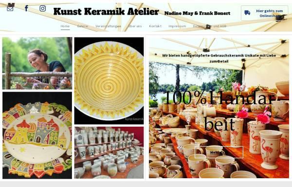 Vorschau von www.kunst-keramik-atelier.de, Kunst-Keramik-Atelier Nadine May & Frank Bonert