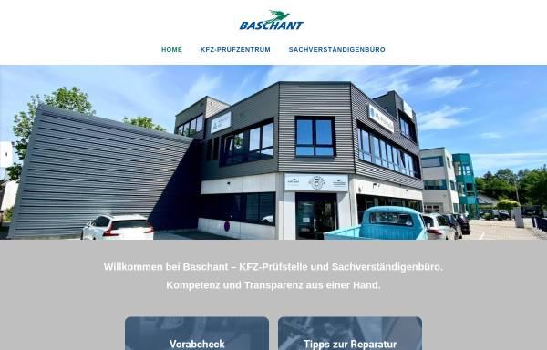 Vorschau von www.baschant.de, Sachverständigenbüro Baschant