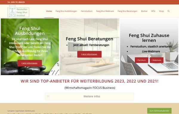 Vorschau von www.deutsches-fengshui-institut.de, Deutsches Feng Shui Institut
