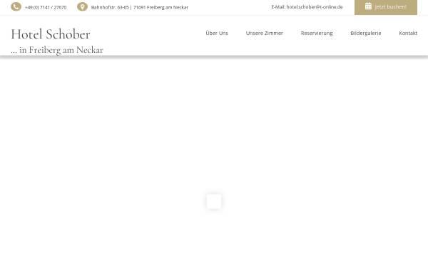 Vorschau von www.hotelschober.de, Hotel Restaurant Schober