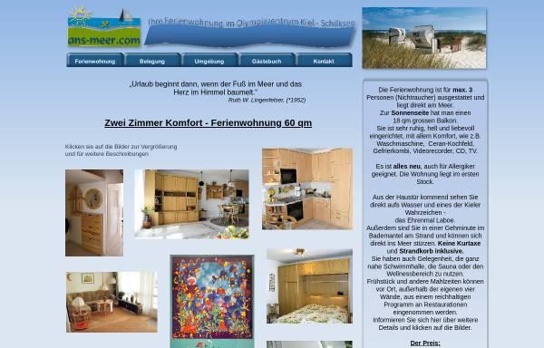 Vorschau von www.ans-meer.com, Ans Meer