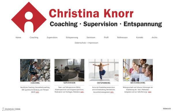 Vorschau von www.christinaknorr.de, Christina Knorr