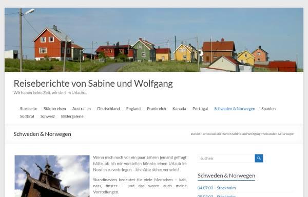 Vorschau von www.bauer-seyr.at, Urlaub in Schweden und Norwegen [Wolfgang und Sabine Bauer]