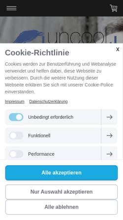 Vorschau der mobilen Webseite www.ulf-hartmann.de, Ulf Hartmann