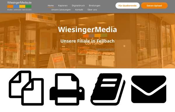 Vorschau von www.fellbach-copyshop.de, WiesingerMedia - ab Oktober 2010 auch in Fellbach