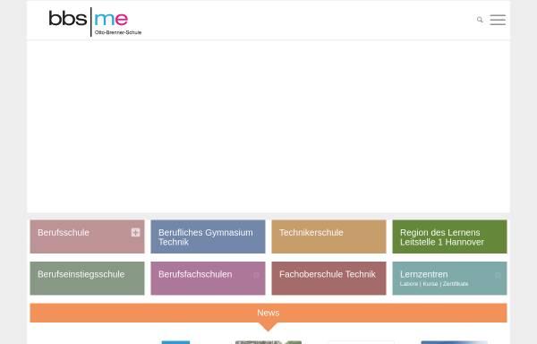 Vorschau von www.bbs-me.de, Otto Brenner Schule - Berufsbildende Schule Metalltechnik und Elektrotechnik der Region Hannover