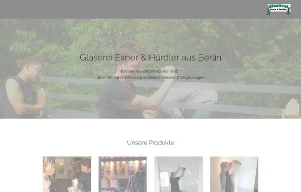 Vorschau von www.glaserei-exner-huerdler.de, Glaserei Exner und Hürdler