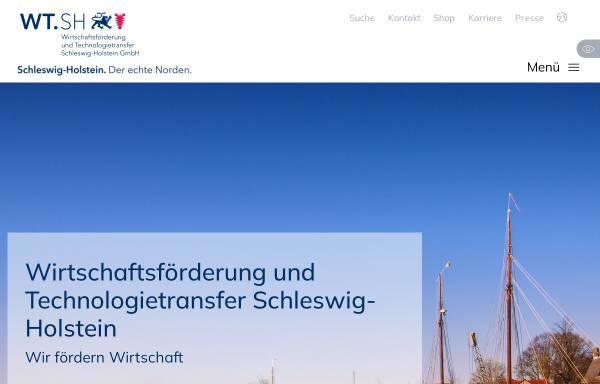 Vorschau von wtsh.de, Wirtschaftsförderung und Technologietransfer Schleswig-Holstein GmbH